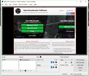 Open Broadcaster Software (OBS)