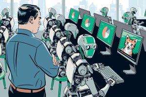 Робот звонит